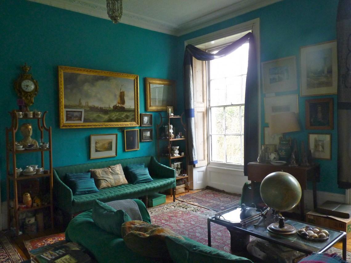 dark turquoise home decor