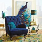 peacock color palette home decor