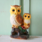 retro owl home decor