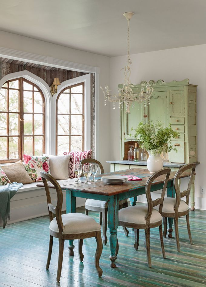 turquoise country home decor