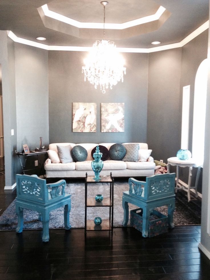 turquoise home decor accents