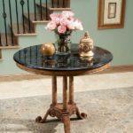 Round Foyer Table Design Ideas
