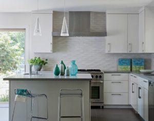 tile backsplash ideas for white kitchen