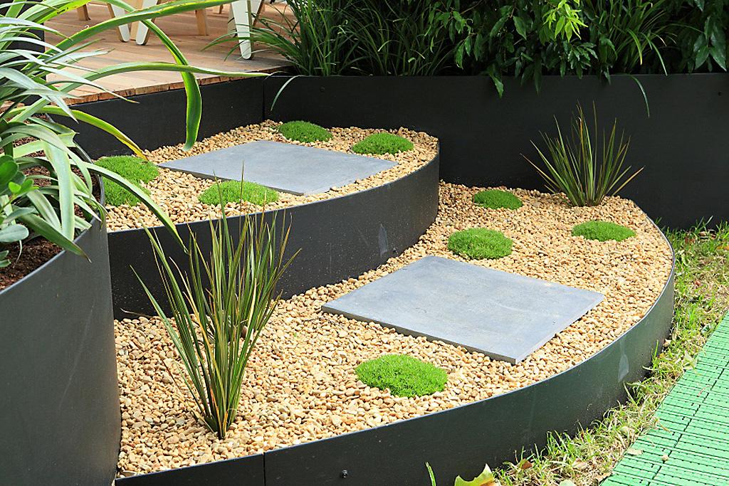 aluminium garden edging ideas