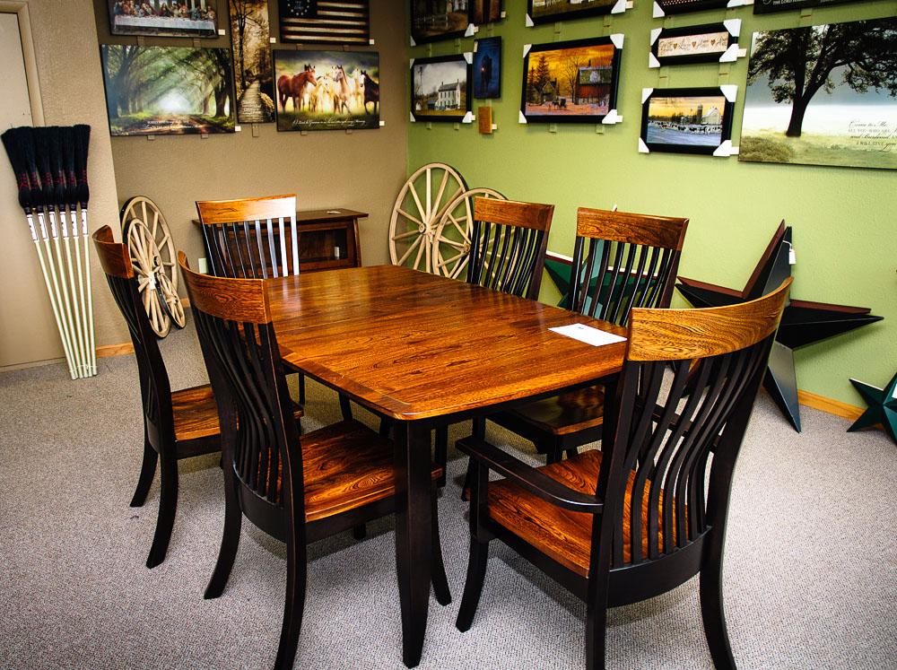 Elegant amish dining room furniture amazing decor ideas