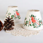 Clip on Lamp Shades: Drum and Elegance