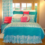 Turquoise Bedroom for Main Bedroom Theme