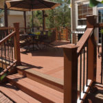 backyard composite decks