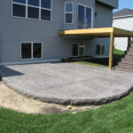 backyard concrete decks