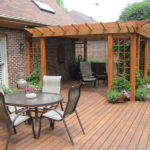 backyard deck and pergola ideas