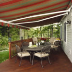 backyard deck awnings