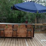 backyard deck bar