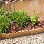 bamboo garden edging ideas
