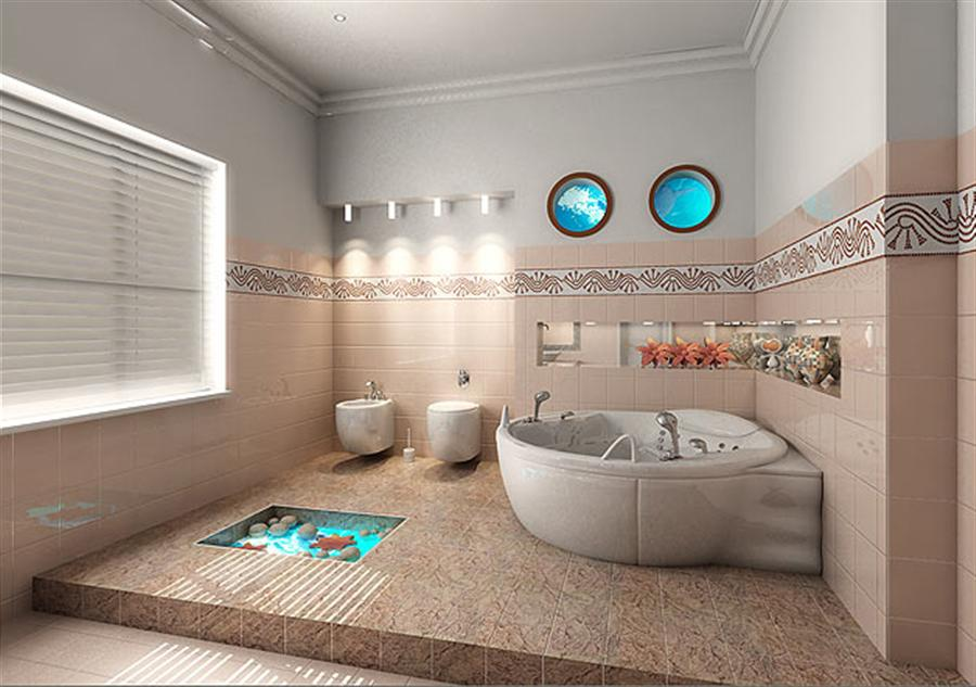 bathroom decorating ideas above toilet