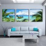 beach landscape canvas