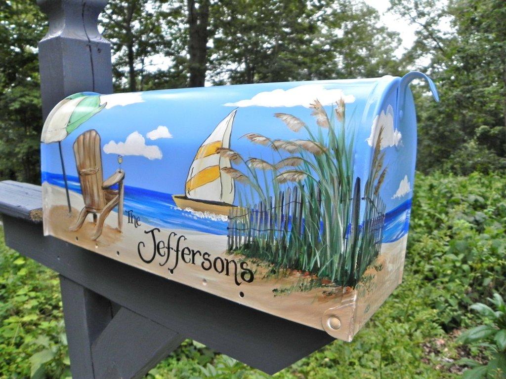 beach mailbox ideas