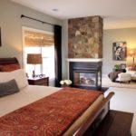 bedroom fireplace decorating ideas