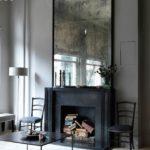 black fireplace decorating ideas