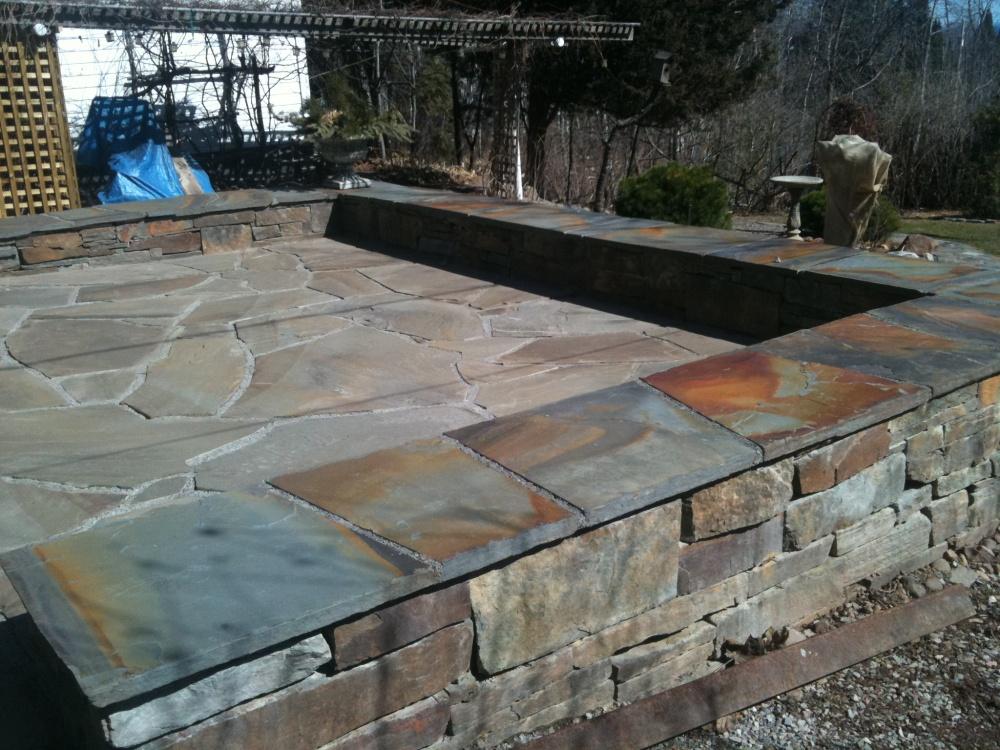 bluestone patio stone