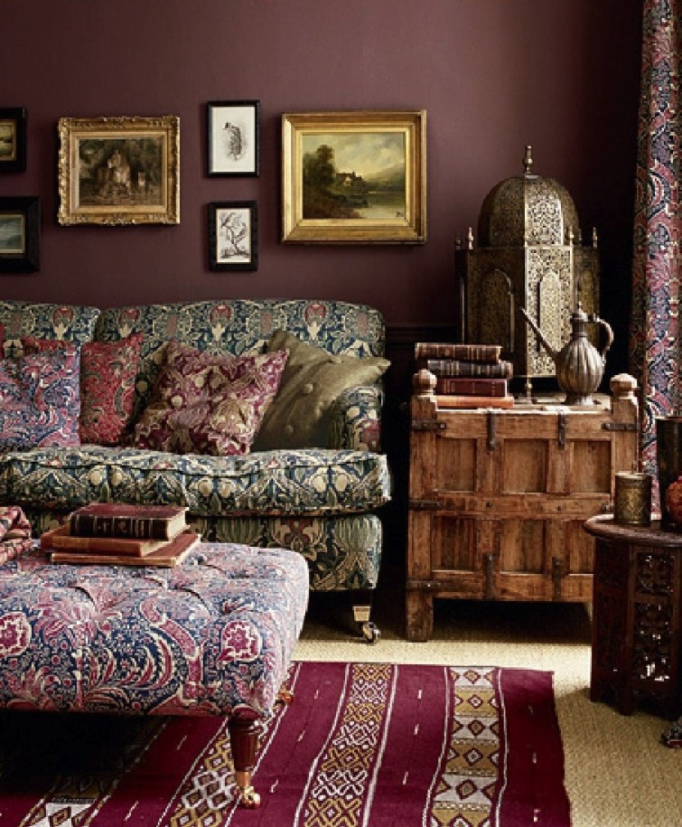 bohemian chic home decor ideas