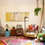 bohemian luxe home decor