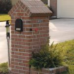 brick mailbox ideas