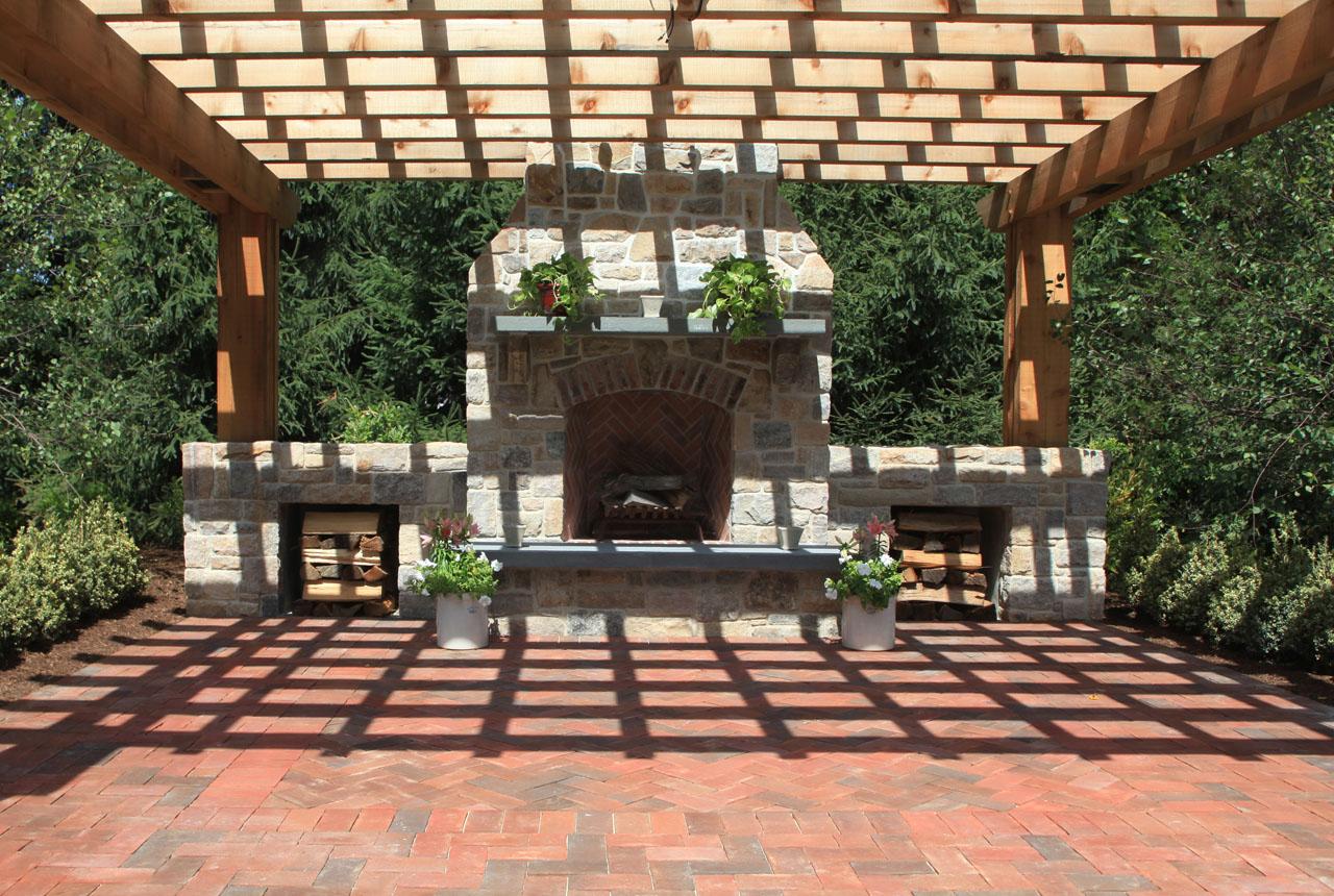 brick patio decorating ideas