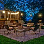 brick patio lighting ideas