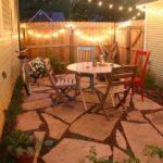 concrete patio lighting ideas