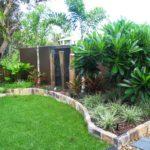 contemporary garden edging ideas