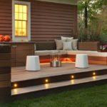 contemporary patio lighting ideas