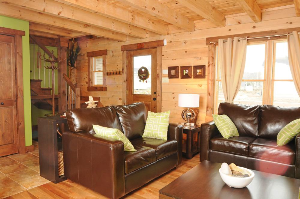 country log home decor