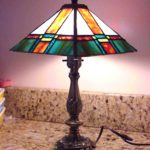 custom stained glass lamp shades