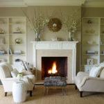 decorating ideas around fireplace