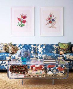 design acrylic coffee table