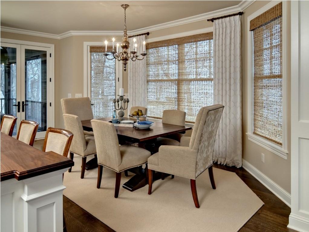 dining room window treatments ideas
