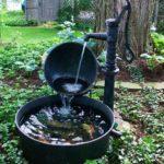 diy backyard fountain ideas