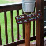 diy outdoor ashtray ideas