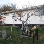 diy outdoor halloween ideas