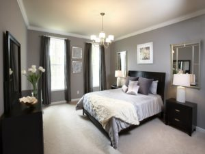 double bedroom decoration