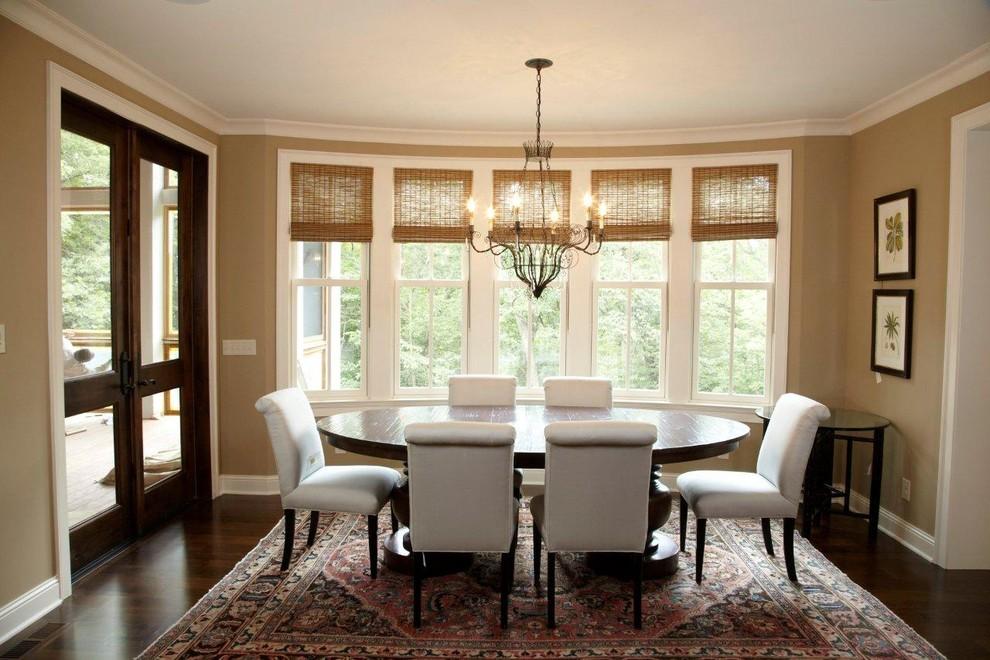 elegant window treatments for dining room
