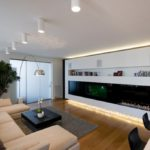 family room ideas with corner fireplace