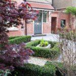 formal front garden design