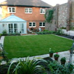 formal garden design images