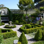formal garden designs pictures