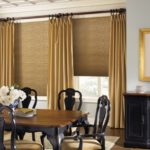french country dining room window treatments