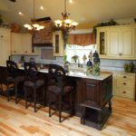 french cream kitchen cabinets