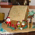 gingerbread house beach ideas