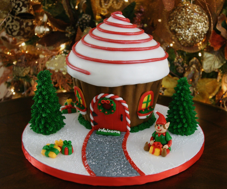gingerbread house cake ideas