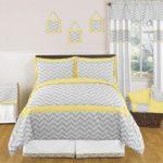 grey chevron bedroom ideas